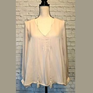 ASTR Tunic Top Pale Pink Size SMALL